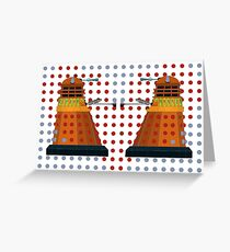 Dalek  Valentines Greeting Card