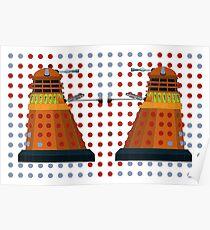 Dalek  Valentines Poster