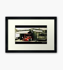 JJJ Heathcote Family Butchers Framed Print