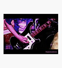 Bass Guitar Photographic Print