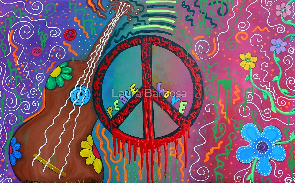 Peace and Love 2 by Laura Barbosa