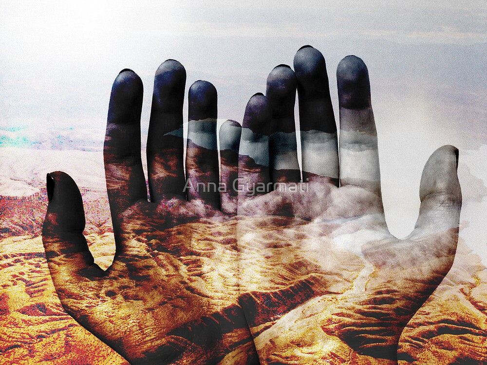 The world is in our hands by Anna Gyarmati