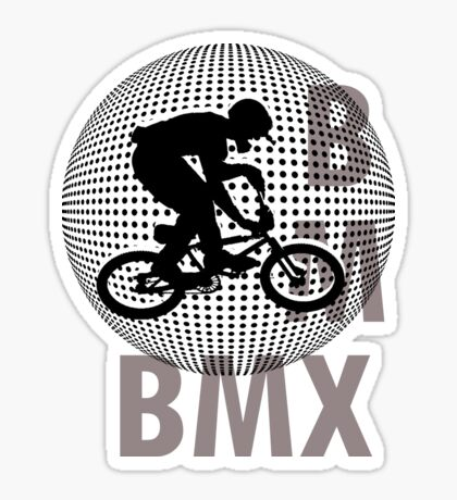 A BMX T-SHIRT Sticker