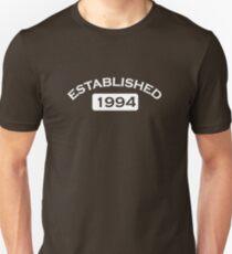 Established 1994 Unisex T-Shirt
