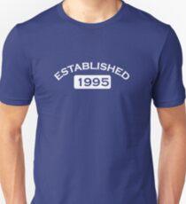 Established 1995 Unisex T-Shirt