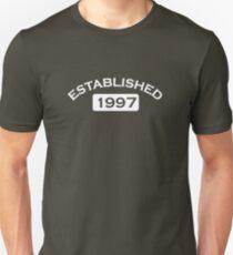 Established 1997 Unisex T-Shirt