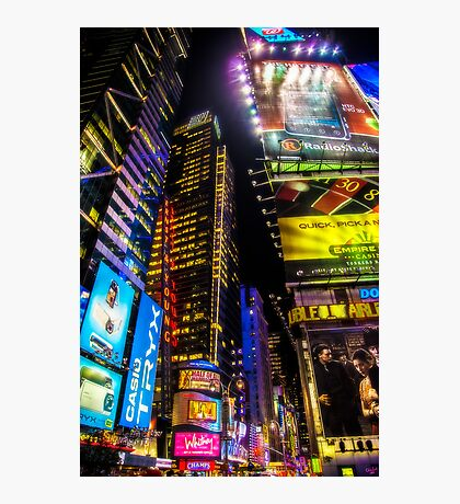 Forty Second Street Photographic Print