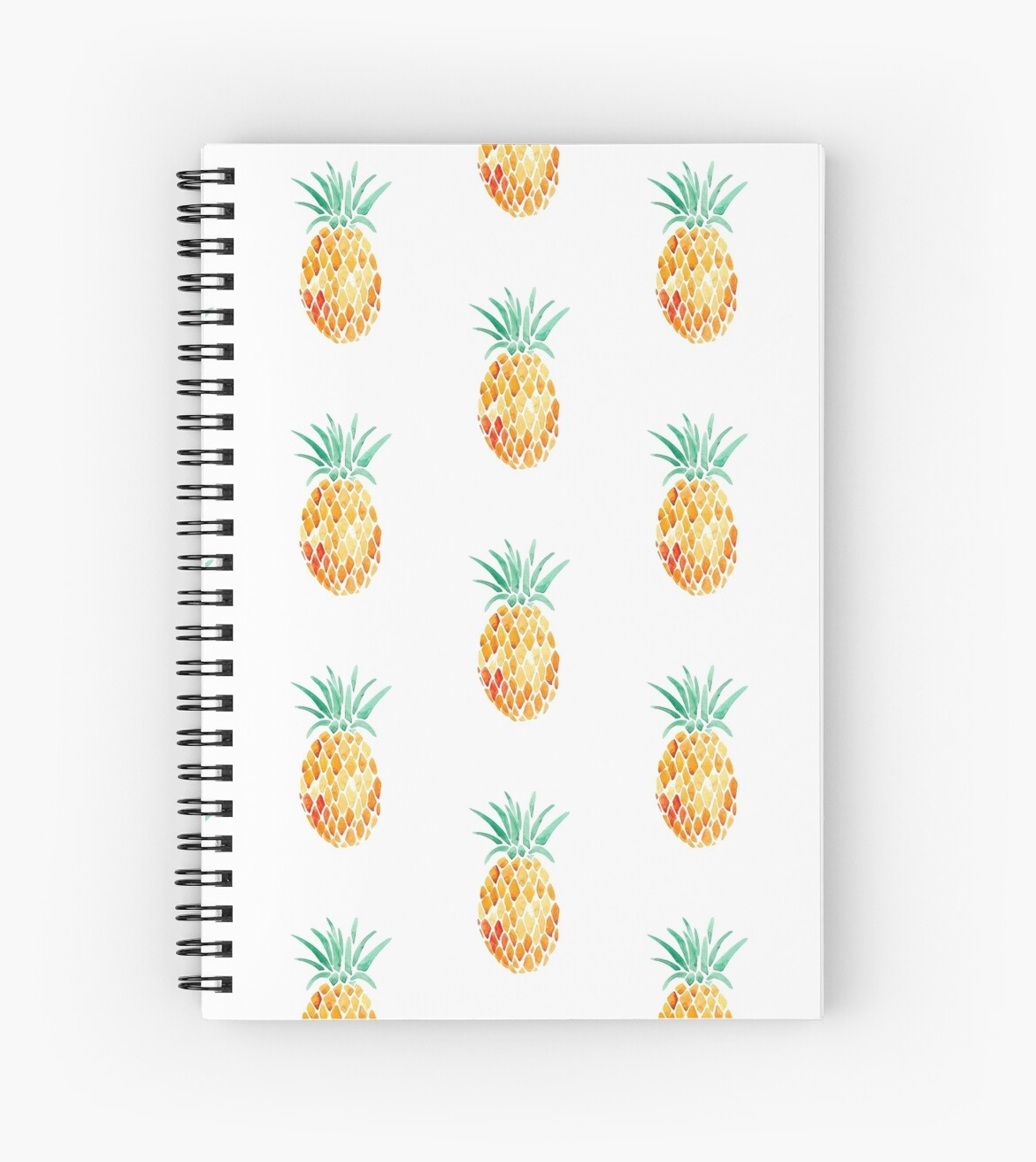 """Tumblr pineapple "" Spiral Notebooks by Thomas Sharp ..."