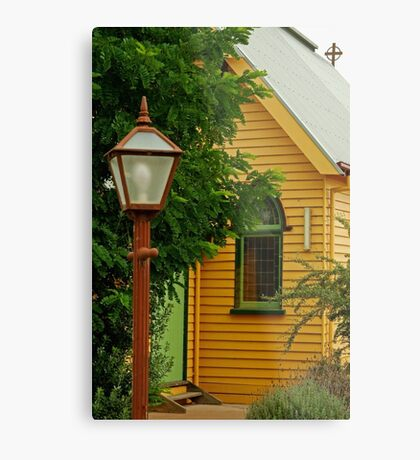 Cobin Farm Church Metal Print