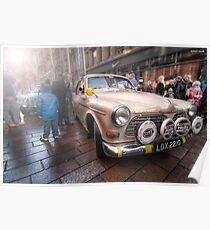 Monte Debutante - 1968 Volvo || Monte Carlo Classic Rally 2013  Poster