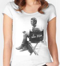 Steve McQueen Women's Fitted Scoop T-Shirt