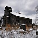 St. Johns Evangelical Church and Cemetery in Perry County, Ohio by Chad Wilkins