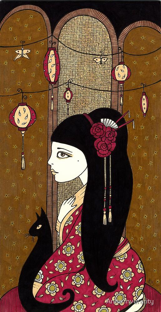 Cho Cho San by Anita Inverarity