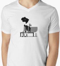 Automaton Blues Men's V-Neck T-Shirt