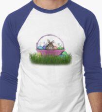 Easter Bunny Rabbit Men's Baseball ¾ T-Shirt