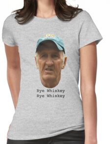 Rye Whiskey  Womens Fitted T-Shirt
