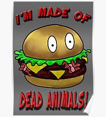 Meat Tastes Good.  Poster