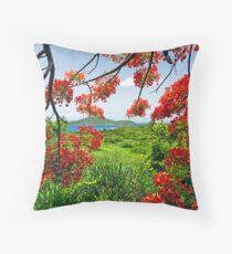 Tamarind Bay View Throw Pillow