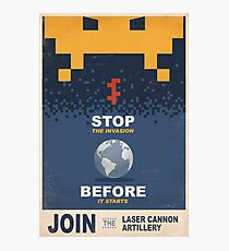 Join the Laser Canon Artillery Photographic Print