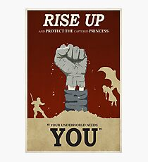 Rise Up Photographic Print