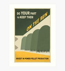 Do your part Art Print