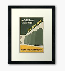 Do your part Framed Print