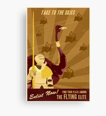 Take to the Skies Canvas Print