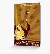 Take to the Skies Greeting Card