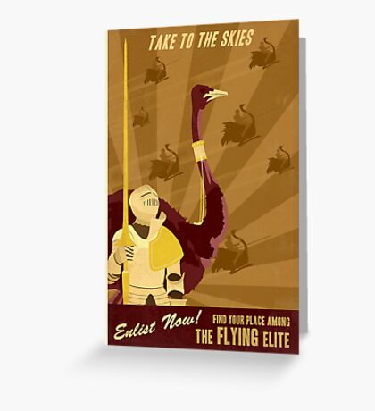 Take to the Skies Greeting Card