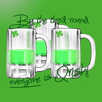 Everyone  is Irish by Amiteestoo