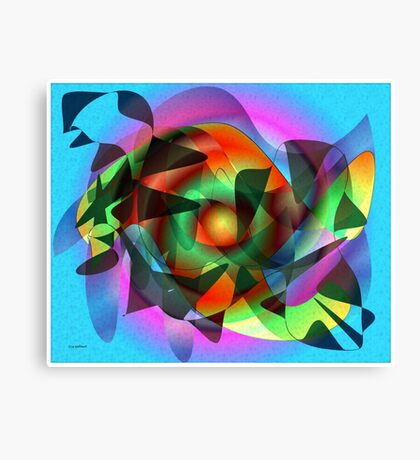 Bright new world Canvas Print