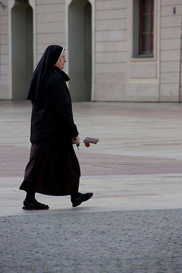Invisible Dog And Nun by phil decocco
