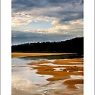 sunset at cuttagee, bermagui by kathybellingham