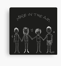 Made In The A.M. Canvas Print
