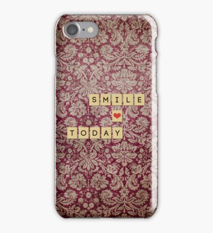 Smile Today iPhone Case/Skin