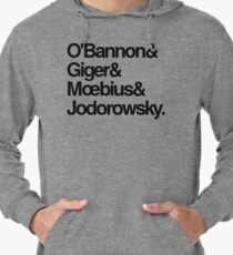 Jodorowsky's Dune - O'Bannon, Giger, Moebius and Jodorowski Lightweight Hoodie