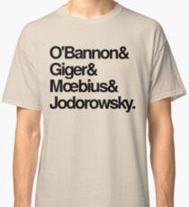 Jodorowsky's Dune - O'Bannon, Giger, Moebius and Jodorowski Classic T-Shirt
