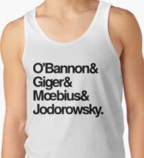 Jodorowskys Düne - O'Bannon, Giger, Moebius und Jodorowski Tank Top