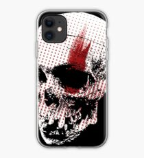 Trash Polka Skull  iPhone Case