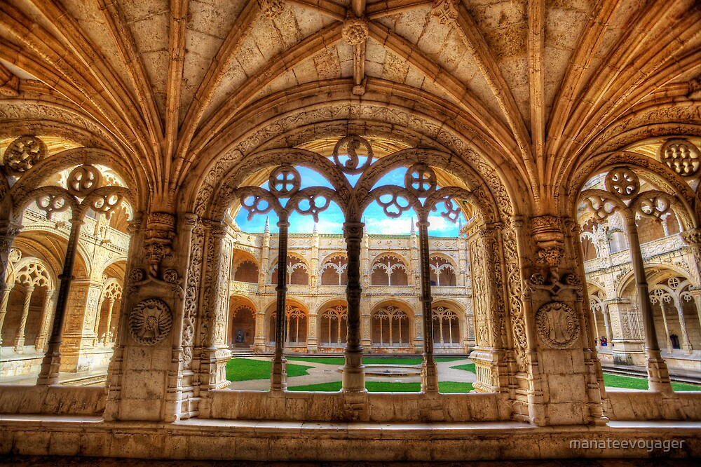 Cloisters Of Monastery dos Jeronimos by manateevoyager