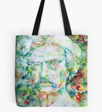 MARK TWAIN - watercolor portrait Tote Bag