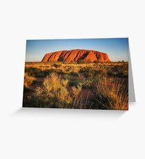 Ayers Rock (Uluru) Greeting Card