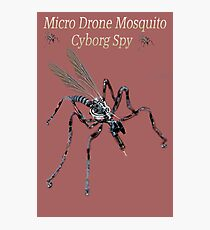 ✾◕‿◕✾ MICRO DRONE MOSQUITO CYBORG SPY WITH ON BOARD RFID NANOTECH✾◕‿◕✾ Photographic Print
