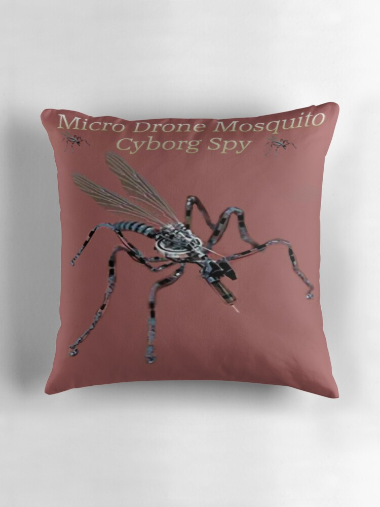 MICRO DRONE MOSQUITO CYBORG SPY WITH ON BOARD RFID NANOTECH
