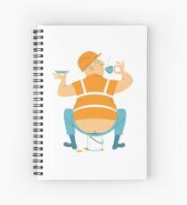 Builder's Tea Spiral Notebook
