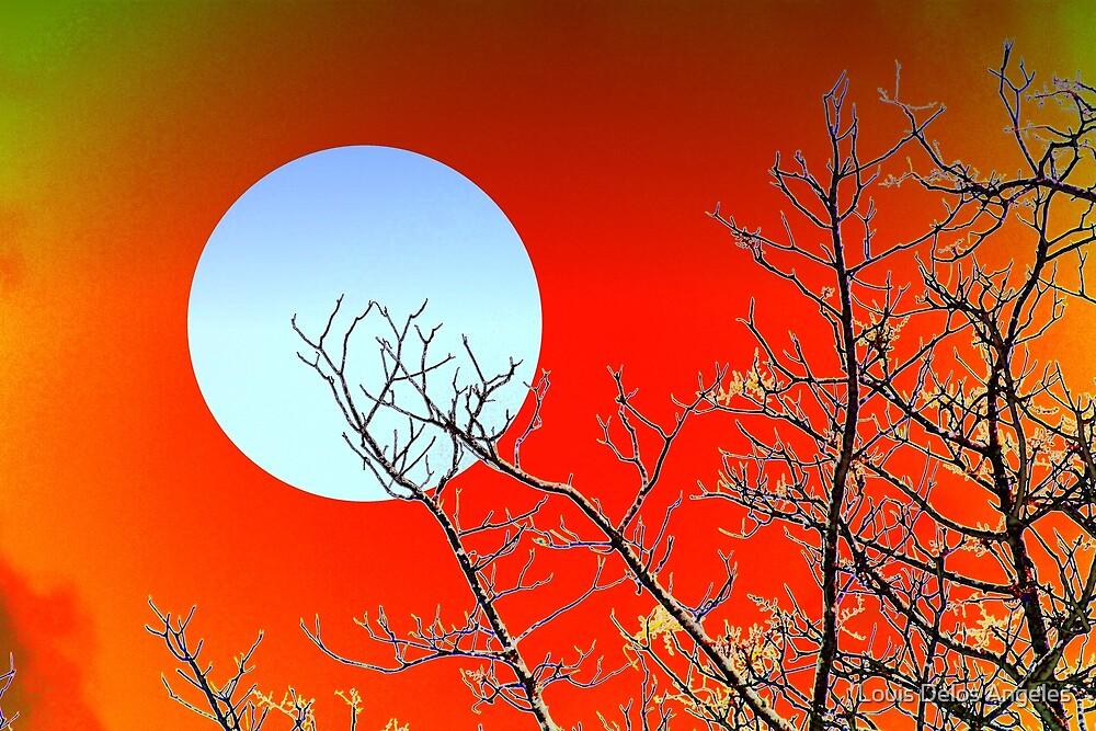 Imaginary moon by Louis Delos Angeles