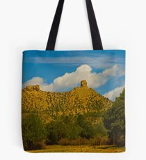 Chimney Rock Colorado Tote Bag