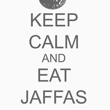 Keep Calm Eat Jaffas by jack-bradley