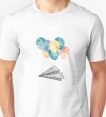 Fly Paper Plane! T-Shirt
