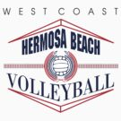 Hermosa Beach California Volleyball by SportsT-Shirts